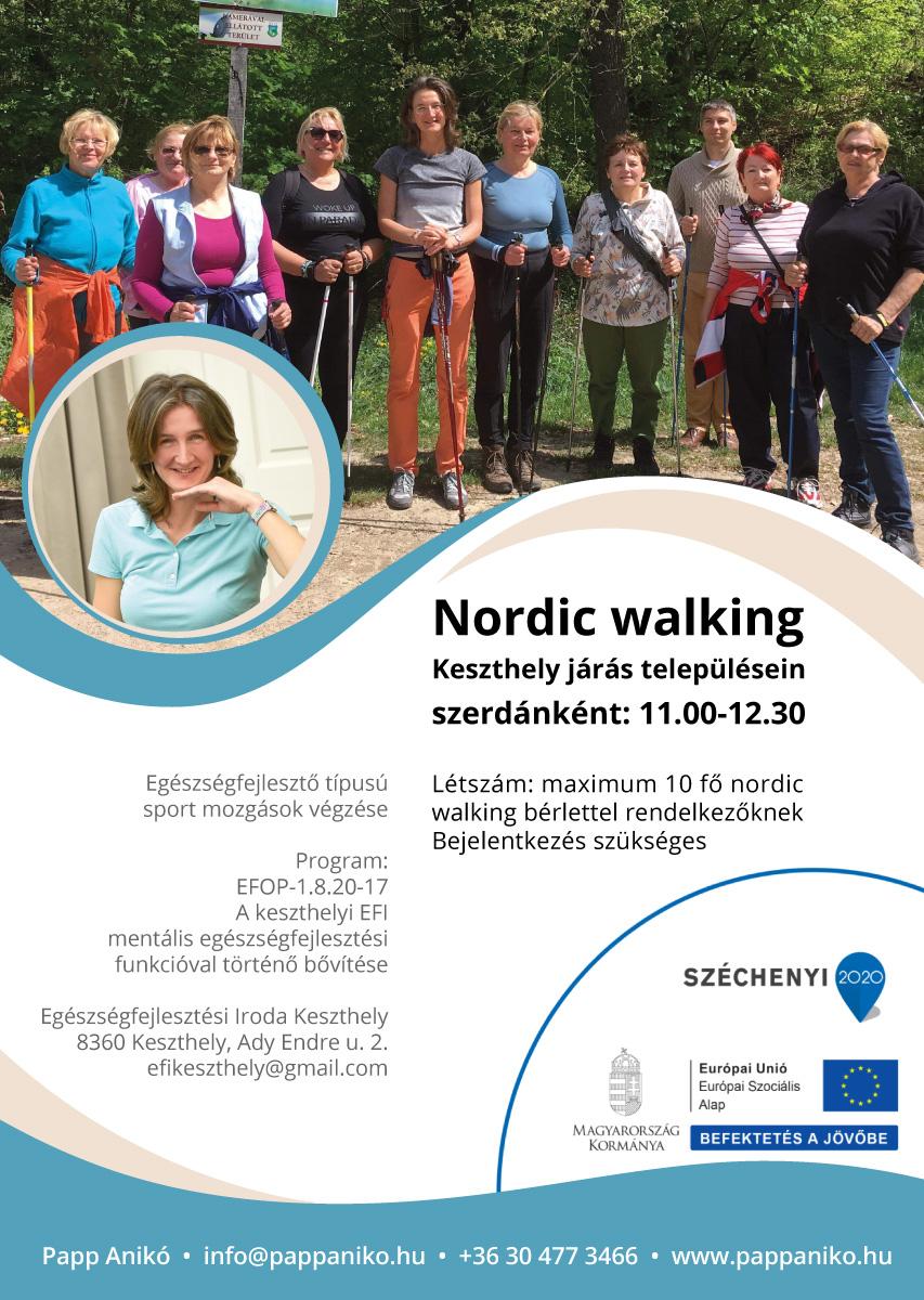 Nordic walkingozz ingyen!