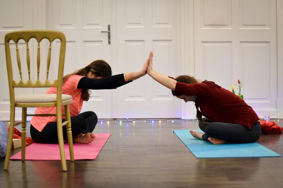 Papp Anikó - jógaoktató Keszthely - csoportos jóga
