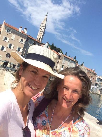 Elvonulás Horvátországban nordic walking