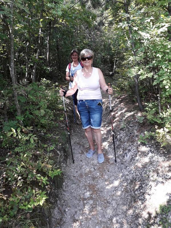Papp Anikó - nordic walking Zala megye, Keszthely, Gyenesdiás - túra, edzés az erdőben